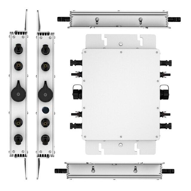 WVC 1400W Wireless MPPT Micro Solar on grid inverter Converter 20 50VDC 220VAC 110VAC grid tied pure sine wave power inverter|Solar Inverters|   -