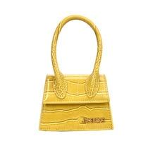 купить Hot Brand Luxury Fashion Famous Designer Women Purse and Handbag High Quality Shoulder Messenger Bags Mini Crocodile Pattern Bag по цене 2001.48 рублей