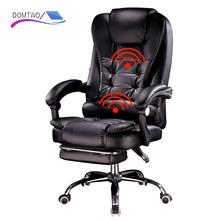 Nowe produkty boss krzesło do pracy na komputerze office home obrotowy fotel do masażu podnoszenie regulowane krzesło tanie tanio DOMTWO Executive krzesło Wyciąg krzesełkowy Krzesło obrotowe Krzesło biurowe Meble sklepowe Meble biurowe Skóra syntetyczna