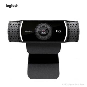 Logitech C922 HD Pro Stream Webcam With Micphone Full HD 1080P Video Auto Focus anchor webcam