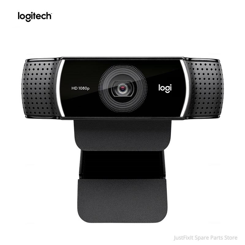 Веб-камера logitech C922 HD Pro Stream с микрофоном, Full HD 1080P видео, автофокус, анкерная веб-камера