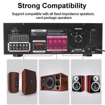 Усилитель мощности SUNBUCK AV-502BT, количество каналов: 7 (6.1), USB, FM 4