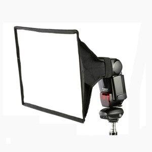 "Image 2 - 2 יחידות האוניברסלי 30x20 ס""מ כיכר פלאש Softbox מפזר עבור Canon Nikon Sony Yongnuo מץ Speedlite Godox"