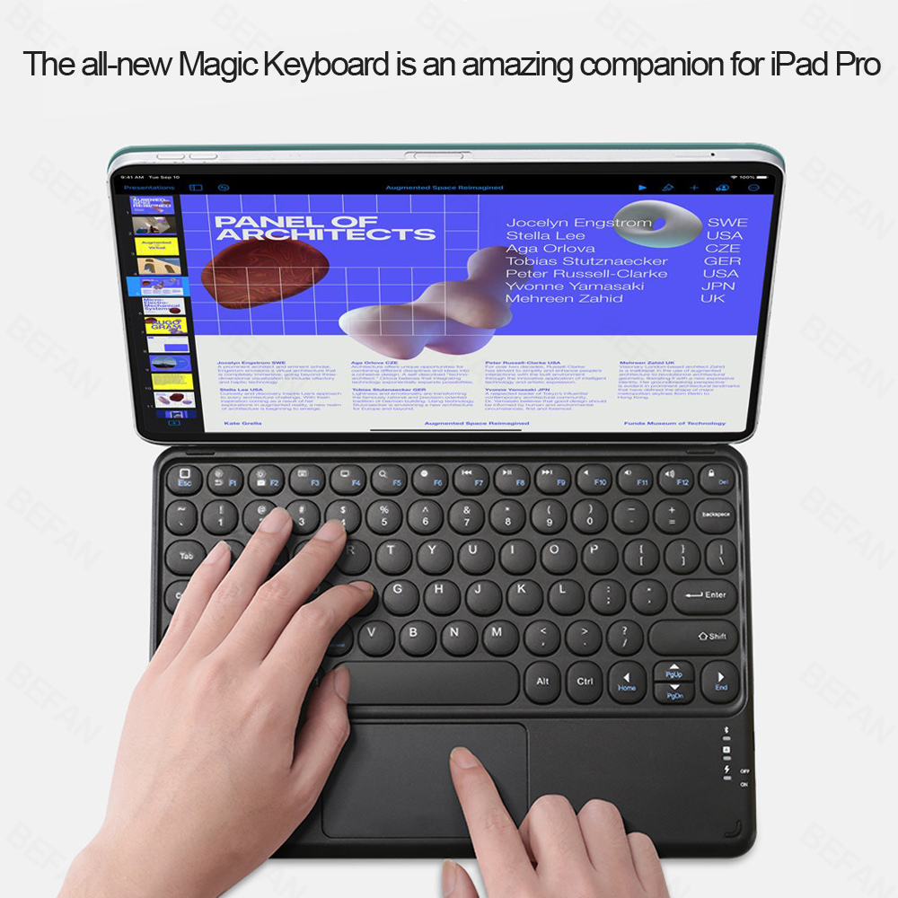 teclado magico para ipad pro 11 caso 01