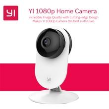 YI 1080p домашняя камера, крытая IP система видеонаблюдения с ночным видением для дома/офиса/ребенка/няни/питомца, монитор iOS Android