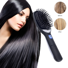 Hair Straightener Brush Fast Hair Comb E