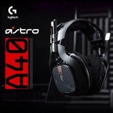 Logitech Astro A40 profesyonel oyun kulaklığı 7.1 surround ses mikrofon ile çoğu için uygun platformları gibi PC/PS4/NS