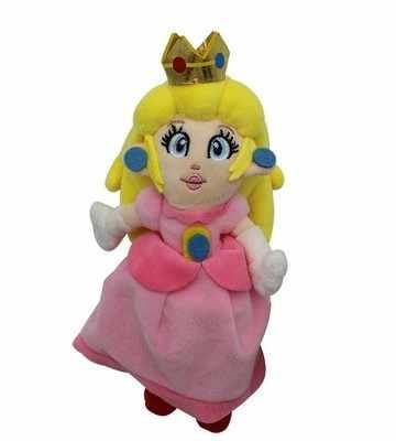 20CM Princesa Super Mario Plush Toy Com Tag Macios Bonecos De Pelúcia Brinquedo para crianças presente de aniversário do bebê