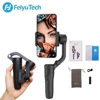 FeiyuTech Vlog 포켓 미니 3 축 핸드 헬드 스마트 폰 범용 안정기 iPhone Xs Max Xr X 8 시리즈  HUAWEI P30 pro  MI 9