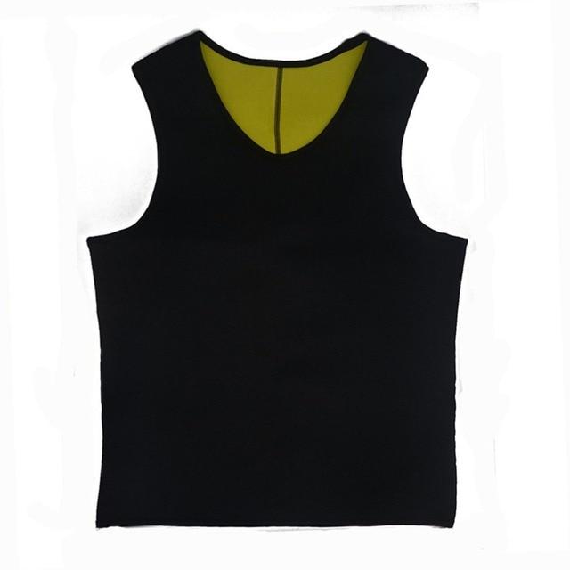 Sweat Sauna Body Shaper Men Slimming Vest Thermo Neoprene Trainer Sliming Waist Belt Durable And Comfortable Weight Loss Vest