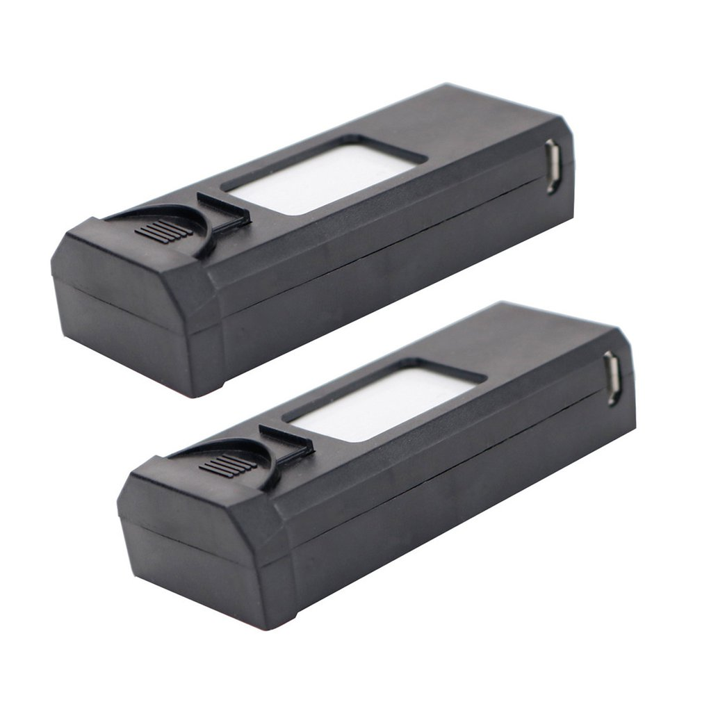 2 Pcs 3.7V 1800mAh Rechargeable Replacement Battery Drone Battery For XS809SRC XS812 Quadcopter Aircraft Replacement Parts