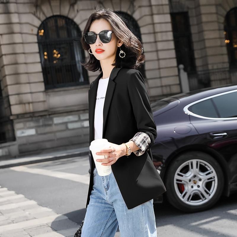 Fashion women's office jacket suit feminine 2020 new autumn and winter women's loose ladies blazer High quality elegant jacket