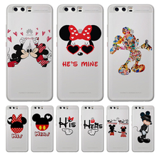 Mickey Minnie cartoon For Huawei Mate 9 10 20 30 P8 P9 P10 P20 P30 P Smart Lite Plus Pro phone Case Cover Coque Etui funda capa