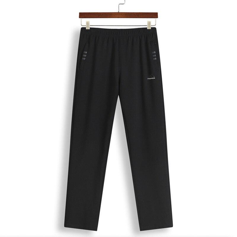 Plus-sized MEN'S Sports Pants Fat Elasticity Breathable Trousers Lard-bucket Climbing Pants Large Size Loose Casual Pants