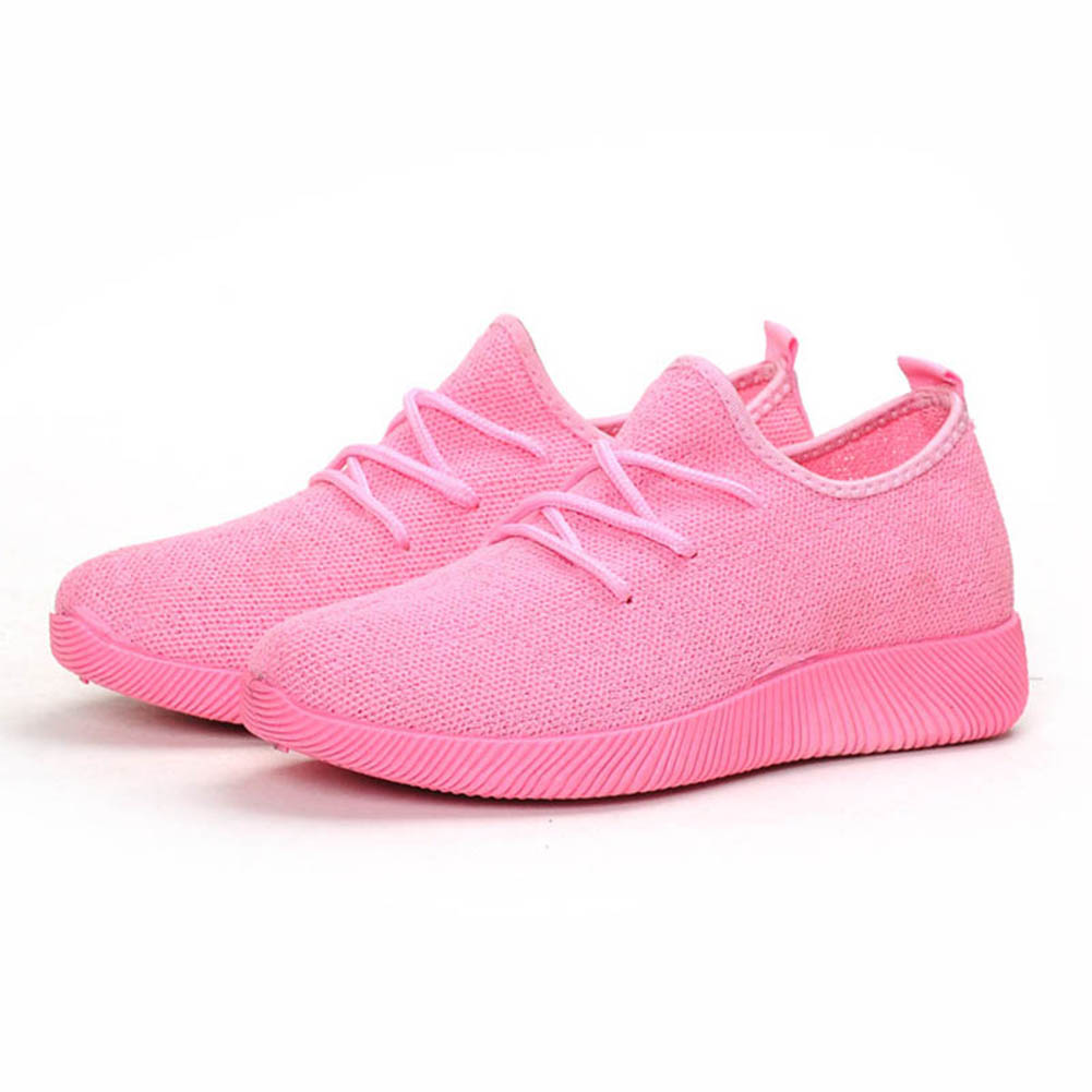 Hot SaleWomen Comfy Sports Sneakers Breathable Mesh Platform Walking Shoes for Summer M88 in Walking Shoes from Sports Entertainment