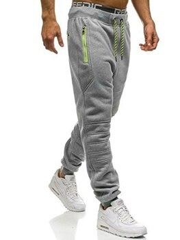 Zogaa ανδρικό αθλητικό casual παντελόνι σε 3 χρώματα και νούμερα s με 3xl