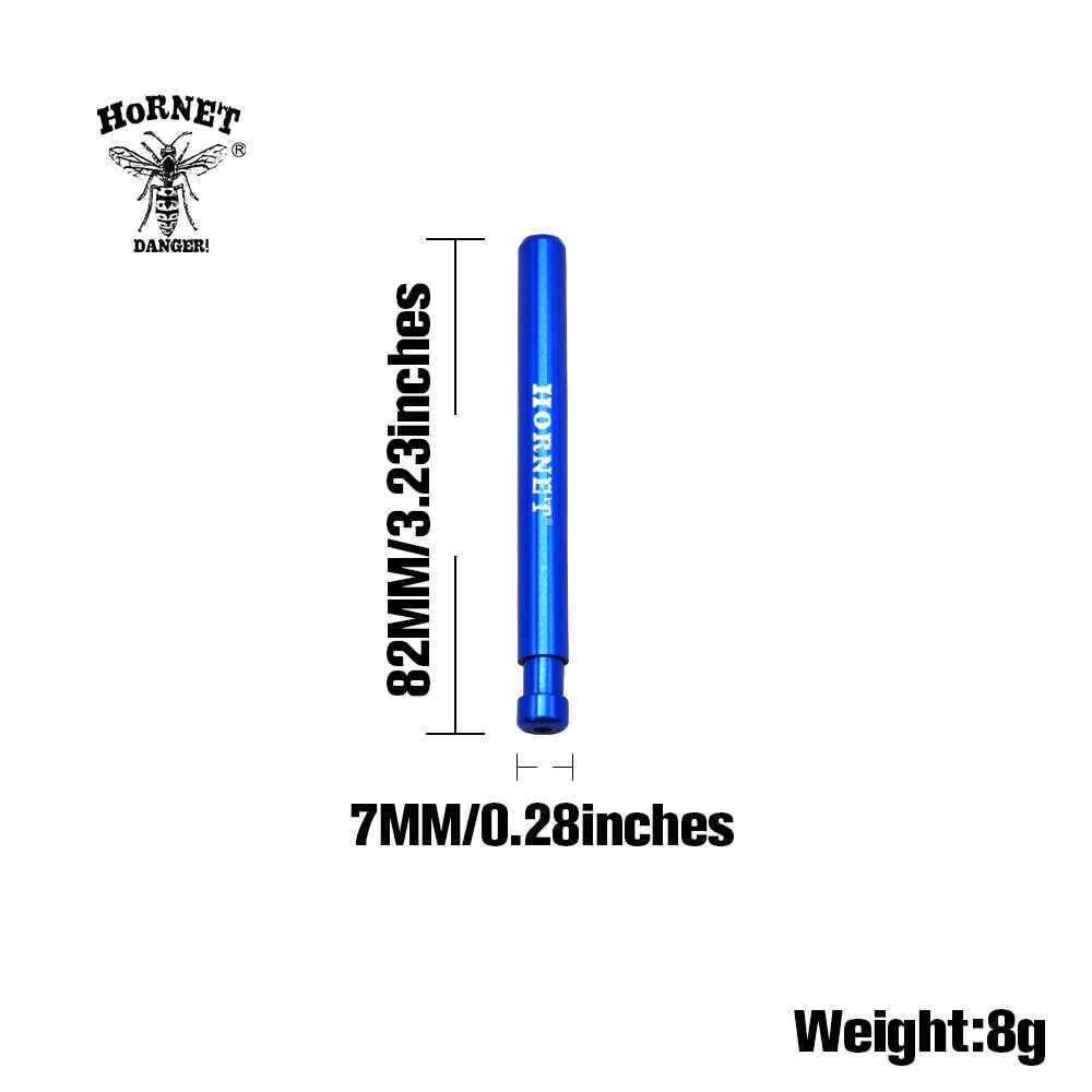 ホーネット1打者アルミ喫煙パイプ82ミリメートル金属バットダグハーブたばこピパ喫煙アクセサリー