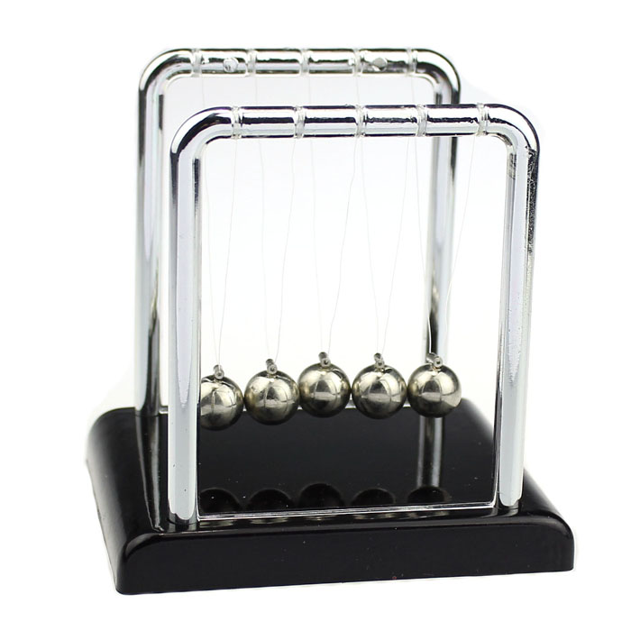 Educational Tecnologia Toys For Children Boys Kids Physics Science Toys Accessory Desk Toy Newton's Cradle Steel Balance Ball