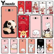 Yinuoda Cartoon Couple case luxury for samsung galaxy j7 j8 note 3 4 5 8 mobile phone accessories