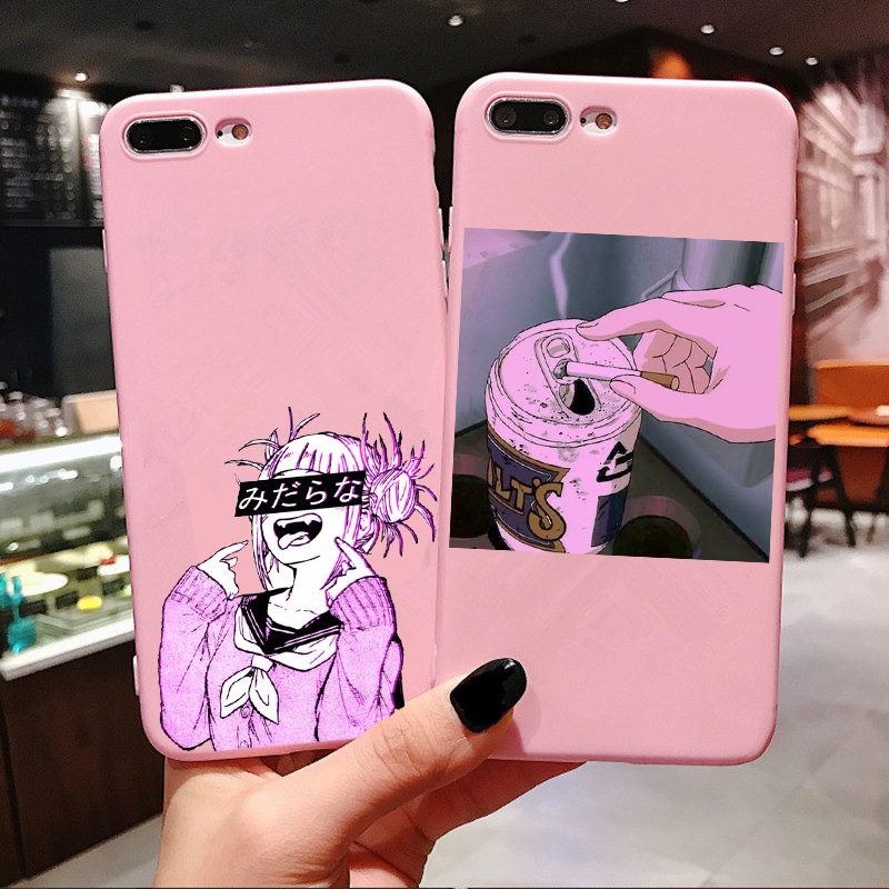 sad japanese anime aesthetic phone case for iphone x xr xs max 8 7 plus 6 6s plus matte candy pink silicone case for iphone xs flip cases aliexpress us 0 97 25 off sad japanese anime aesthetic phone case for iphone x xr xs max 8 7 plus 6 6s plus matte candy pink silicone case for iphone xs flip