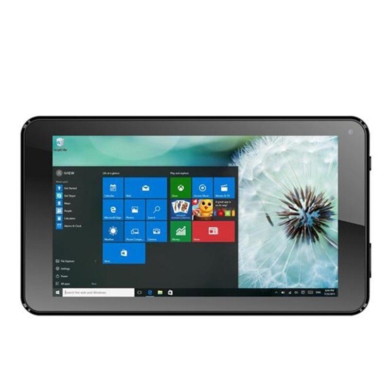 7inch  I700QW Tablet PC Windows 10  Quad-Core  1GB+16GB  1024 * 600 Pixels  Dualcamera Wifi Black Tablet