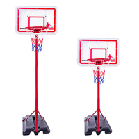 Teenager Outdoor Sports Basketball Equipment Portable Adjustable Basketball Set For Children Kids Educational Toys Birthday Gift