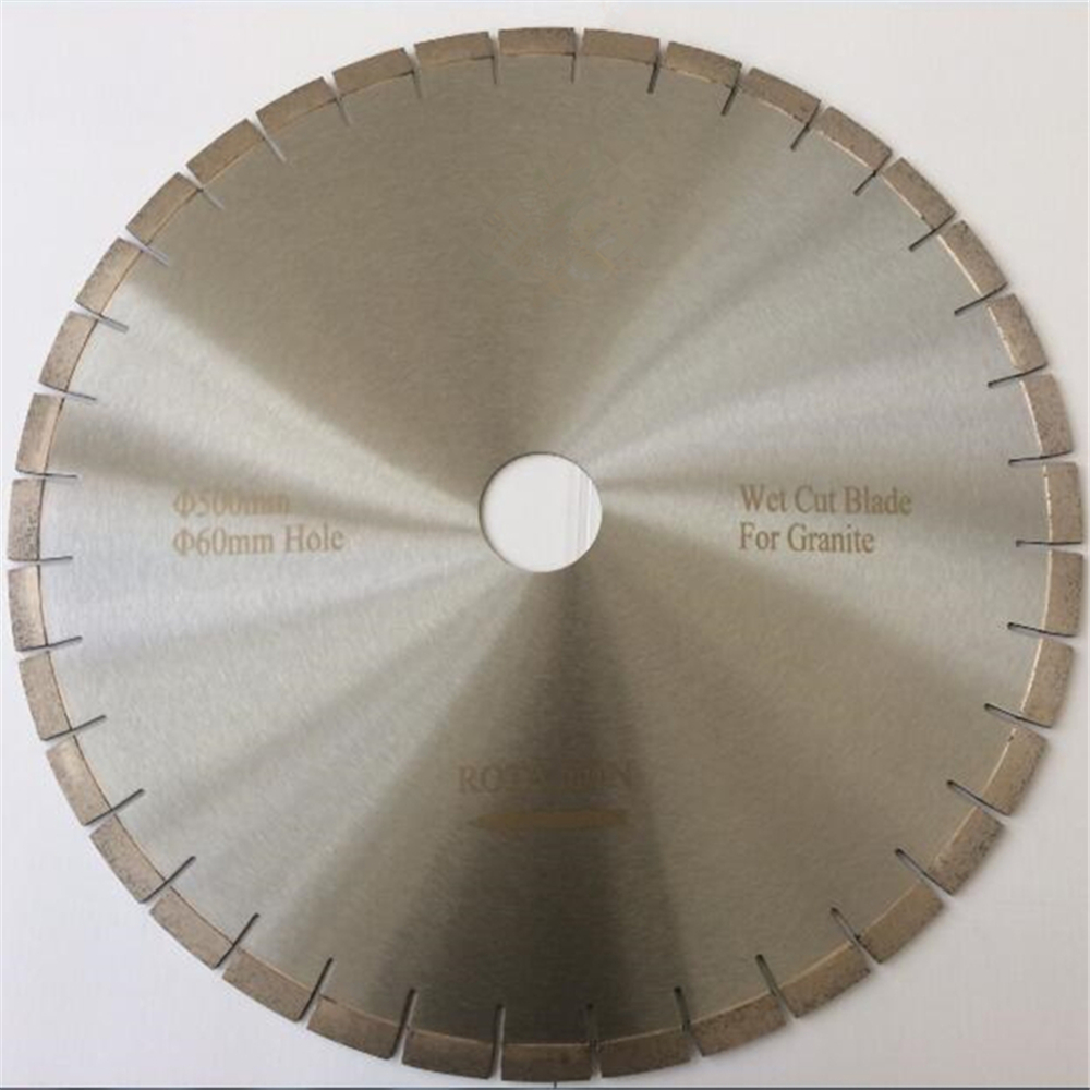 DB25 Factory Price D500mm High Frequency Welding Circular Saw Blades 20 Inch Granite Stone Cutting Disc 1PC