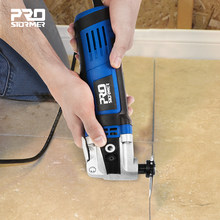 Oscillating Multi-Tools Renovator Multifunction Tool Wood Working Electric Home Decoration Trimmer Electric Saw by PROSTORMER
