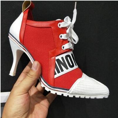 YEELOCA European High Heels M002 New Arrival Korean Version Candy Color High Heel 8CM Female Shoes Cross-tied  KZ0255