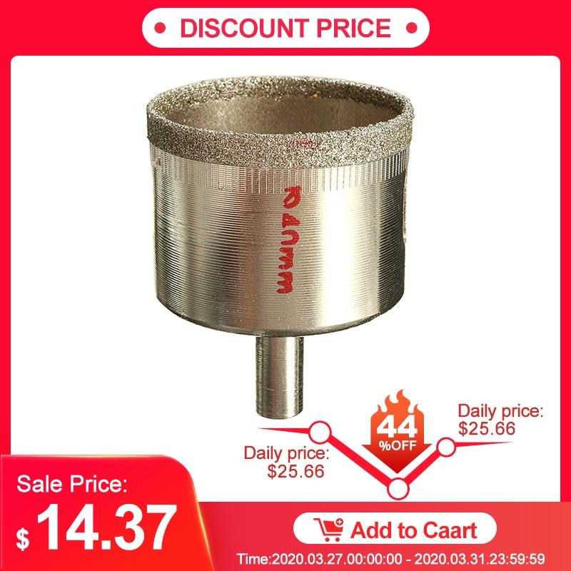 DANIU 7Pcs Metal Diamond Coated Core Hole Tile Marble Glass Saw Tilling Drill Bit Set 10-100mm