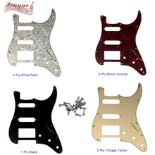 Pleroo Guitar Parts - For US 72' 11 mounting Screw Hole Standard St Hss PAF Humbucker strat Guitar pickguard