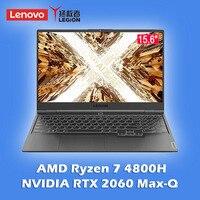 Lenovo-laptop r9000x para jogos, computador portátil amd ryzen 7 4800h, windows 10, 16gb, ddr4, 512gb, ssd, com webcam, bluetooth, wi-fi