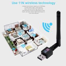 Network-Card Usb-Wifi-Adapter ALLOYSEED Antenna PC 300mbps Wireless Mini