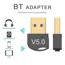 Wireless Transmitter Receiver USB Bluetooth 5.0 Stereo Audio Adapter For PC Win 10 8 7/XP PC Adapter 5.0 Dongle Mini Adapter