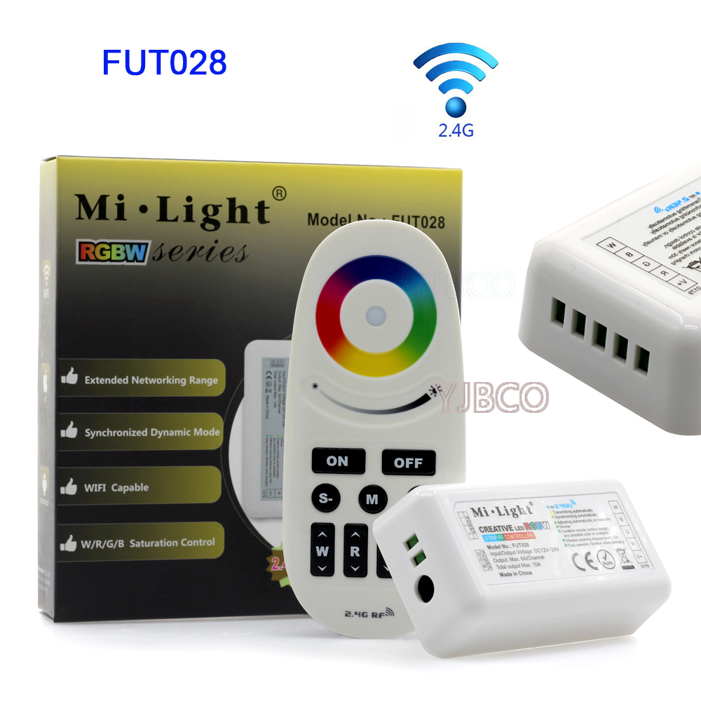 Miboxer 2.4G LED Strip Dimmer Touch Dual White/RGB/RGBW LED Strip Controller FUT020/FUT021/FUT022/FUT025/FUT027/<font><b>FUT028</b></font> image