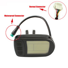все цены на Ebike KT-LCD5 LCD Display Meter Panel for KT Series Controllers 36/48V KT Lcd5 Lcd Display 1 X Meter Display for Electric Bike онлайн