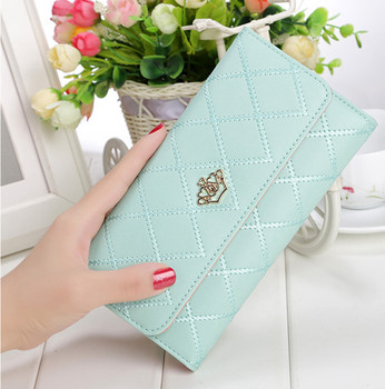 Women Wallets Purses For Girl Ladies Money Coin Pocket Card Holder Female Wallets Phone Clutch Bags Luxury Wallet New