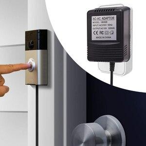 Image 3 - Адаптер питания для беспроводного видеодомофона с Wi Fi, штепсельная вилка стандарта США, Великобритании, 18 в, трансформатор переменного тока, зарядное устройство, IP, видеодомофон 110 240 В