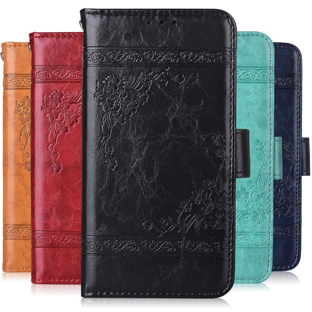 Para On Huawei 7A DUA-L22 funda libro tapa cartera Funda de cuero Para Huawei Honor 7A 7 A 5,45 ''DUA-L22 Coque
