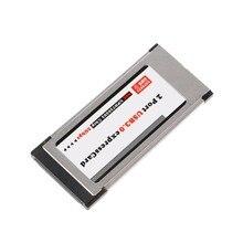 Adaptateur PCI Express vers 2 ports USB 3.0, adaptateur de carte Express 34 mm