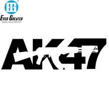 Najlepiej sprzedające się naklejki samochodowe AK 47 pistolet stylizacji samochodów # B1416