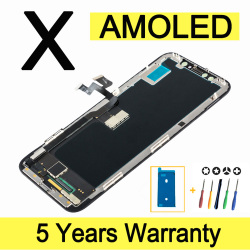 AMOLED Quality Display For iPhone X Lcd Touch Screen Replacement Good 3D Touch Lcd For iPhone X XS Display Screen With Tools