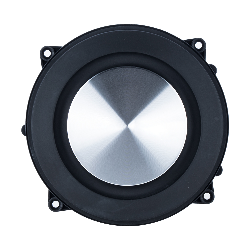 Woofer Speaker Bass Radiator 4 Inch Passive Loudspeaker Rubber Edge Auxiliary Vibration Repair Parts High Quality 1pc