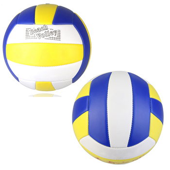 2021 nowy Standard rozmiar 5 siatkówka PU skóra mecz siatkówka kryty trening na świeżym powietrzu piłkę miękki w dotyku piłka do siatkówki 1PC tanie i dobre opinie CN (pochodzenie) 5 Volleyball PU Leather Match Siatkówka plażowa Blue White Yellow(As the picture shown)