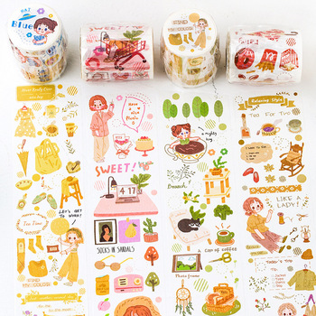 Washi Tape Eat Sea Poet Cute Salt Series Little People Hand Account Diary DIY Decorative Stickers parry r people who eat darkness