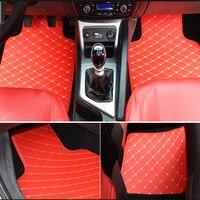 ZRCGL universal Car floor mat for Audi all model A1 A3 A8 A7 Q3 Q5 Q7 A4 A5 A6 S3 S5 S6 S7 S8 R8 TT SQ5 SR4 7 car styling