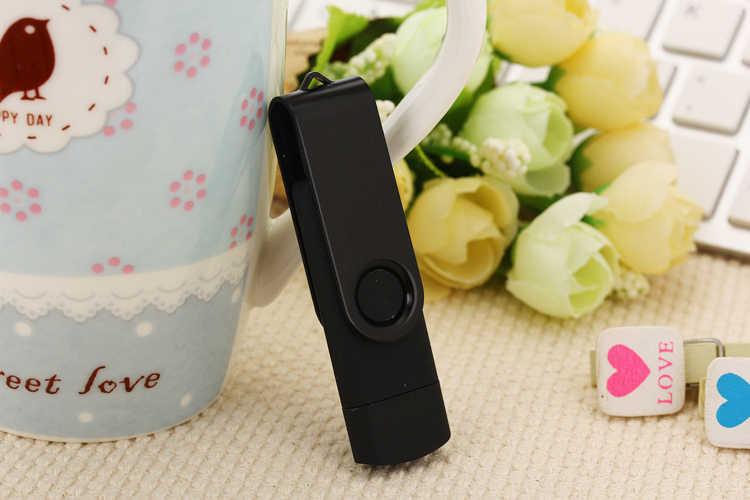 Téléphone portable deux côtés clé USB 128 go 64 go usb 32 go lecteur de stylo 16 go OTG clé usb 4 go 8 go Usb 2.0 clé USB
