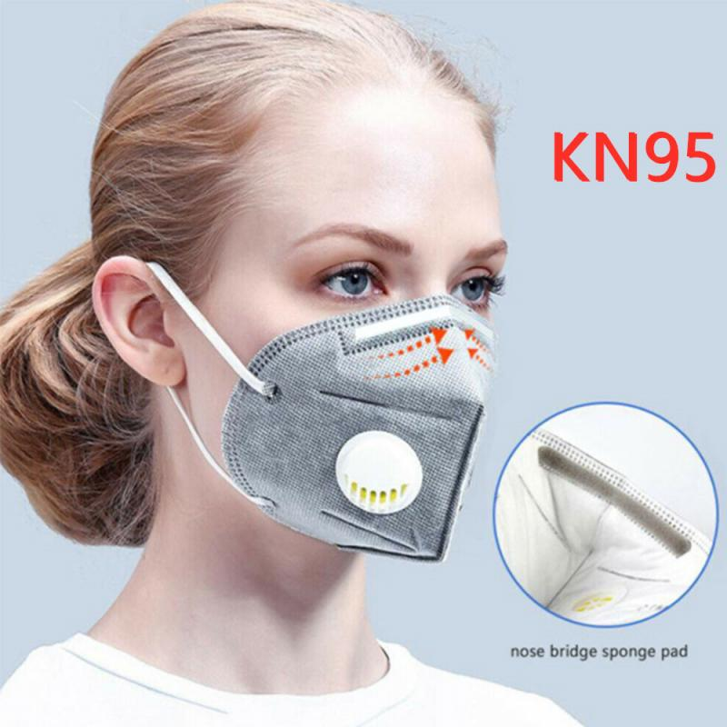 Fast Delivery Reusable KN95 Mask Respirator Disposable Cotton Face Mask N95 Anti Dust Proteccion Breathable PM2.5 Filter