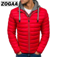 ZOGAA Winter Jacket Men Clothes 2018 New Brand Hooded Parka Cotton Coat Keep Warm Jackets Fashion Coats