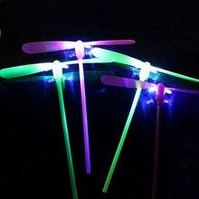 Ночной рынок ларек Горячая игрушка Сияющий бамбук вспышка бамбук летающая фея Детская обучающая игрушка